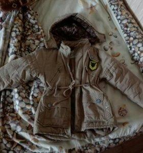 Куртка детская на 7-8 лет