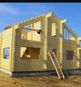Брус для строительства домов и бань