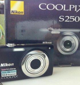 Цифровой фотоаппарат nikon coolpix s 2500
