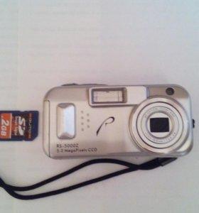 Продается Цифровой фотоаппарат RS-5000Z 5.0 MpxCCD
