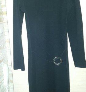 Платье чёрное, размер 46-48