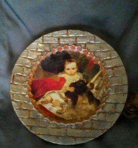 Панно-тарелка