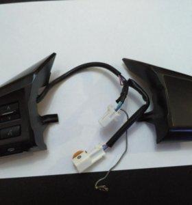 Кнопки управления магнитолой на руль Subaru XV