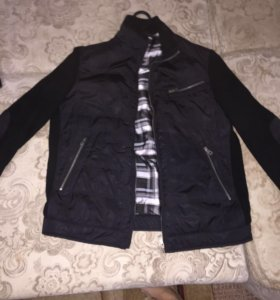 Утепленная куртка-комби