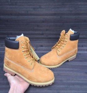 Мужские ботинки timberland зима мех