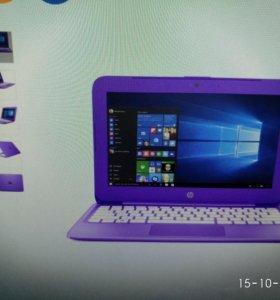 Нетбук hp stream 11-y001ur (фиолетовый)