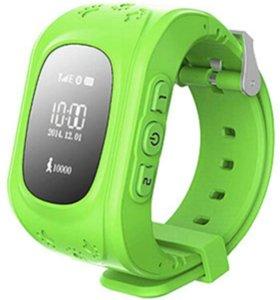 Детские часы g 50 с GPS  зеленый
