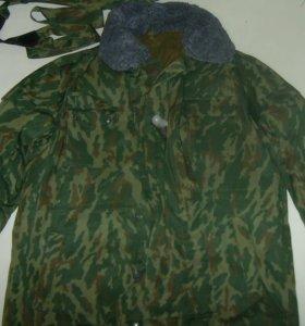 Куртку комуфляж зимнюю для охоты,рыбалки