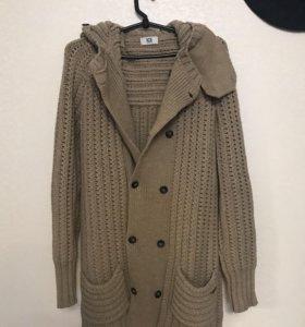 Мужская кофта-пальто с капюшоном ICEBERG
