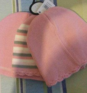 Новые шапочки для девочки, 2-3 года
