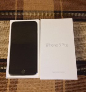 iPhone 6 Plus 64 gb space gray