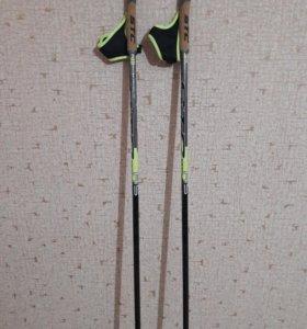 Лыжные палки гоночные. Новые