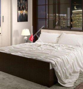 Кровать венге/Дуб