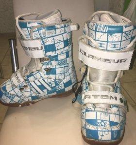 Сноубордические ботинки 35 размер