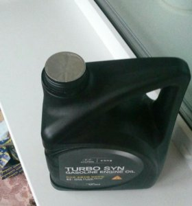 HYUNDAI TURBO SYN GASOLINE ENGINE OIL + фильтр