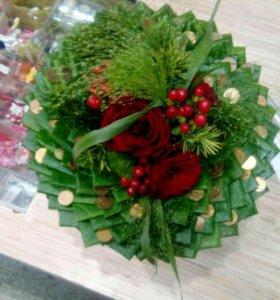 Букеты+ оформление самые свежие цветы