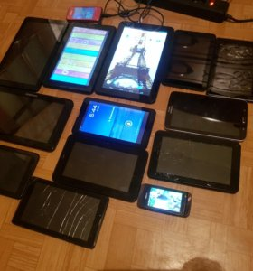 Продам 12 планшетов и 2 телефона!