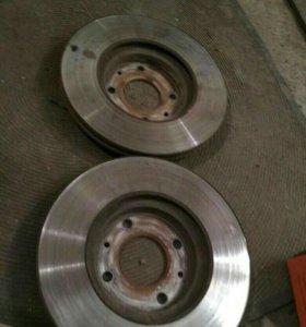 Тормозные диски на Hyundai Solaris