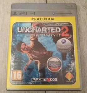 Игра UNCHARTED 2 на ps3 .
