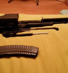 Макет пулемета