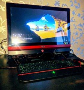 Топовый геймерский моноблок MSI Gaming 24GE 2QE