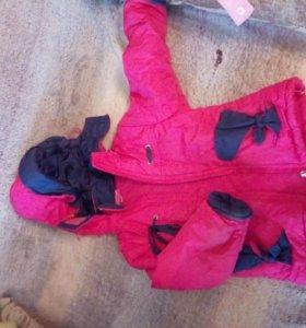 Одежда и обувь пакетом (21 предмет) для девочки