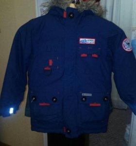 Зимняя куртка на мальчика 6—7 лет