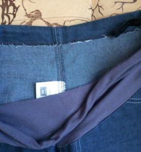 Джинсовые брюки для беременных