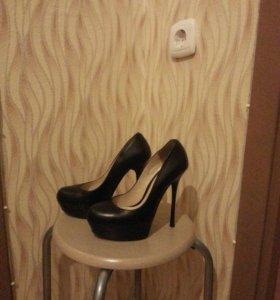 Туфли нат.кожа. 36 размер.