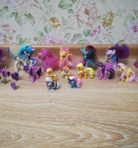 Коллекция пони