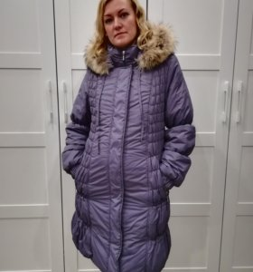Куртка пуховик для беременных