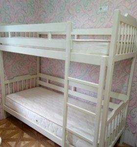 Кровать двухъярусная, Кл1