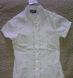 Школьная блузка Acoola новая р. 134