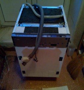 Неисправная посудомоечная машина