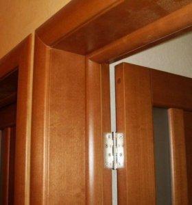 Установка входных, межкомнатных дверей