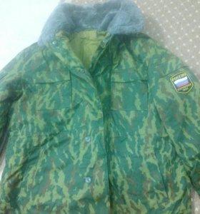 Новая куртка военная зимняя