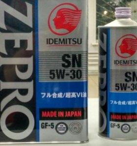 Масло моторное Idemitsu 5w30, GF-5