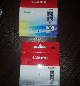 Картриджи для струйного принтера Canon