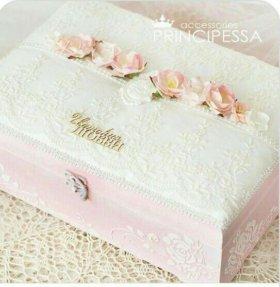 Свадебная шкатулка для конвертов