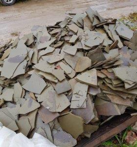 Отделочный природный камень плитняк