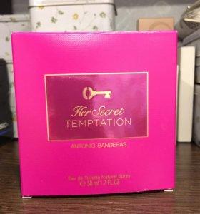 Her secret temptation Antonio Banderas
