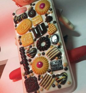 Чехол на Айфон 6 plus (ручная работа)