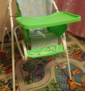 Детский стульчик для кормления  3в1.