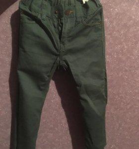Брюки-джинсы hm 98 см