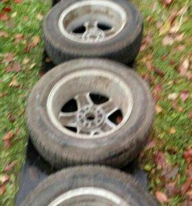 колёса в сборе липучка