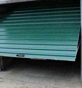 Подьемные ворота для гаража и дома