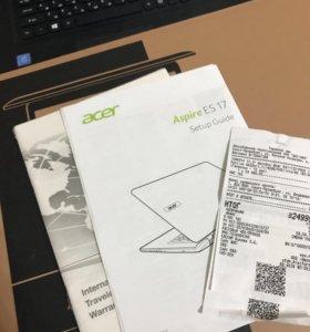 Ноутбук acer Aspire ES17