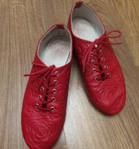 Ботиночки кожаные