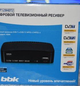 Цифровой ресивер DVB-T2 BBK SMP129HDT2 с HDMI вых