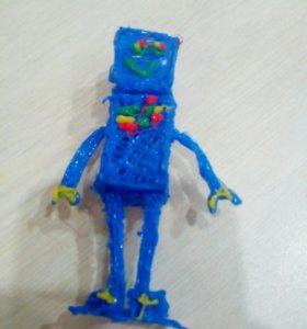 Волшебный робот